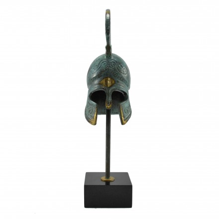 Spartan helmet N3 on marble